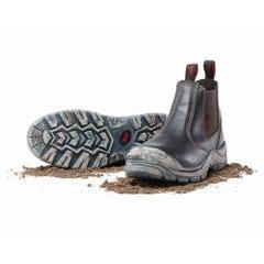 Mack Piston Slip-On Safety Boots - Claret