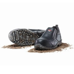 Mack President Slip-On Safety Shoes - Black