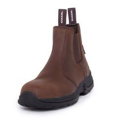 Mack Rider II Slip-On Safety Boots - Rocky Brown