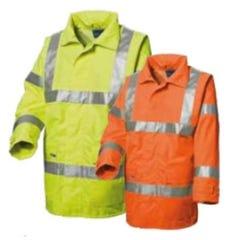 WS Workwear Hi-Vis Chicago Waterproof Jacket with H-Reflective Tape - Orange