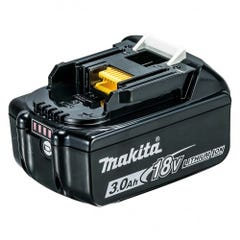 Makita 18V 3.0Ah Li-ion Cordless Battery with Gauge