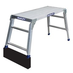 Bailey Bigtop Aluminum Industrial Work Platform Ladder 150kg