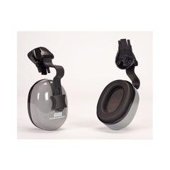 MSA Ear Muff Sound Control Helmet Mounted Sh - For Msa Full Brim Slotted V-gard Hats