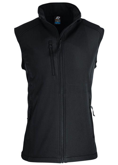 Aussie Pacific Olympus Mens Vests - Black