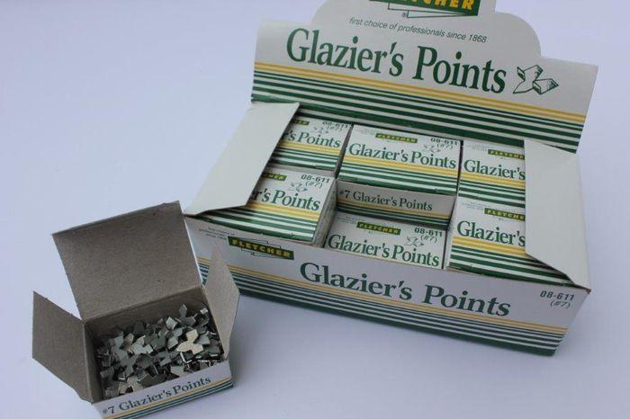 Flectchers Glaziers Push Points #7 (Qty x 12)