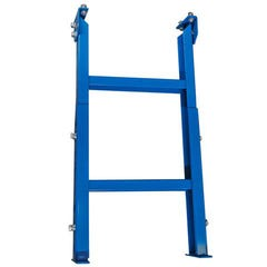 ITM Roller Stand, 510mm Wide, 715 - 1050mm Height