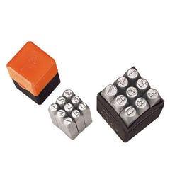Groz Np/4  Number Punch Set, 4mm