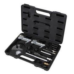 Groz Kit/Lag/21/St  Pro Series Safety Air Blow Gun Kit, 21 Pce Alloy Body