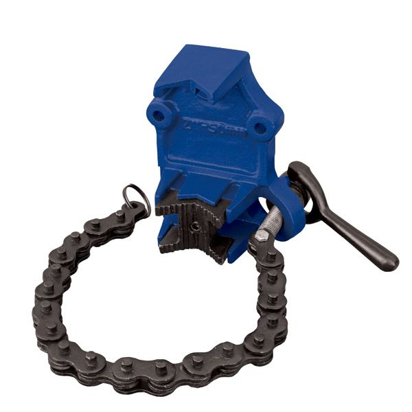 ITM Chain Pipe Vice Cast Iron From 30mm - 100mm