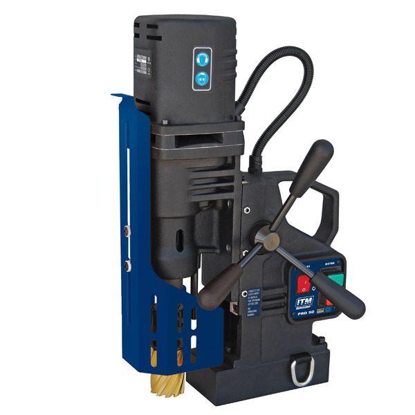 ITM Holemaker PRO50 Magnetic Base Drill 240v 2mt Cap: 52mm Dia X 52mm