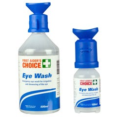 First Aider's Choice Eye Wash Pack 100ml