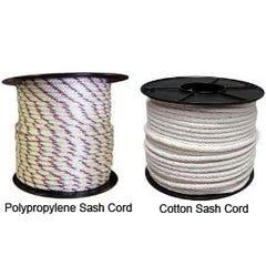 Braided Sash Cord 10mm X 100m White/Red/Blue