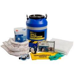 3M Oil & Petroleum Sorbent Spill Kit Drum - 45L, OSRK-45