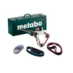 Metabo RBE 15-180 Set 240V 1550W Tube Belt Sander