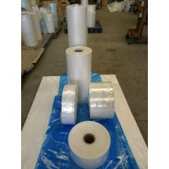 Clear Lay Flat Poly Tubing 300mm Wide x 100um Thick x 135m