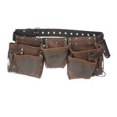 Irwin 11 Pocket Split Leather Tool Belt