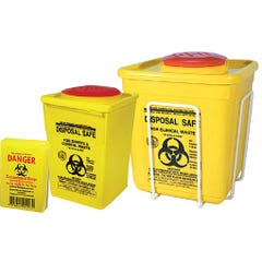 Accidental Health & Safety Sharps Container 1.4L
