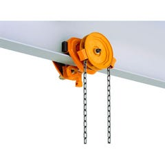 KITO PWB Anchor TSG Series Manual Geared Trolleys 5T